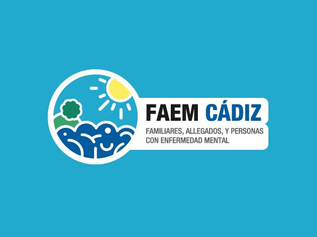Diseño de imagen corporativa FAEM Cádiz - Familiares y allegados y personas con enfermedad mental