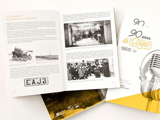 Diseño de la exposición 90 años de Radio de la Cadena Ser