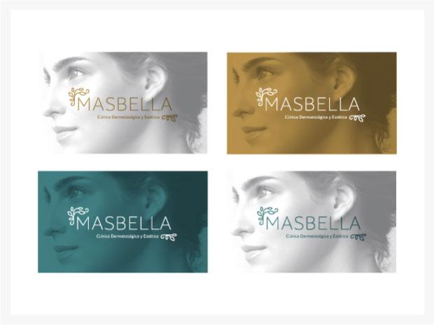Diseño de imagen corporativa MasBella