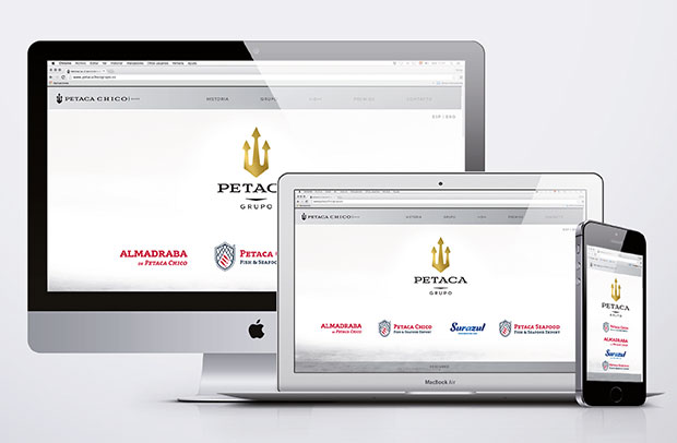 Diseño de imagen corporativa Grupo Petaca