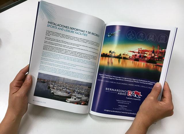 Diseño de handbook 2017 para El Puerto de Cádiz