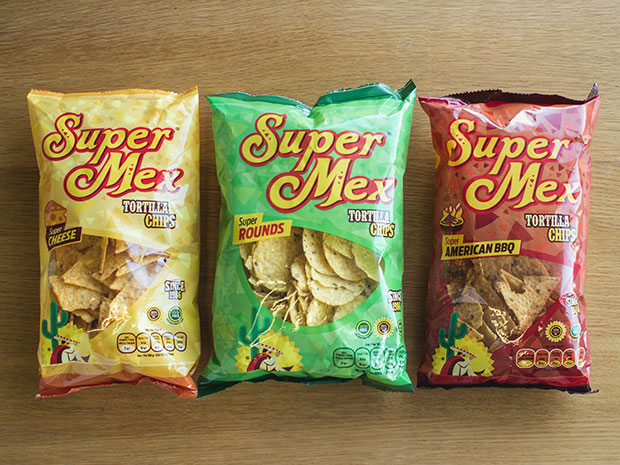 Super Mex Foods – Diseño Packaging Bolsas