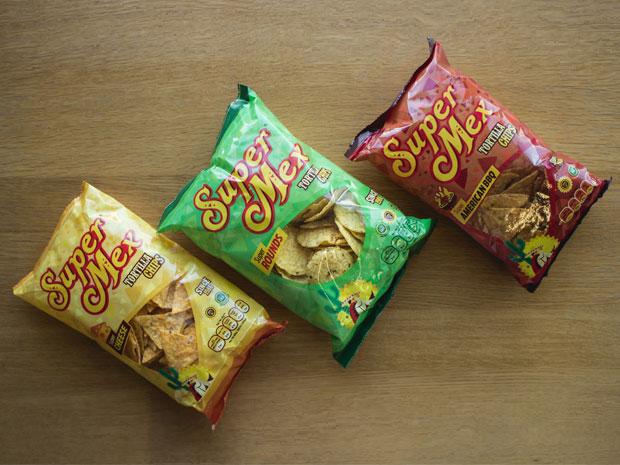 Diseño packaging SuperMex Foods