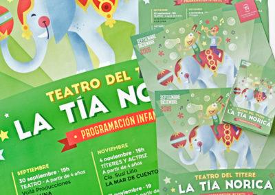 Teatro del Títere La Tía Norica – Septiembre a diciembre 2016