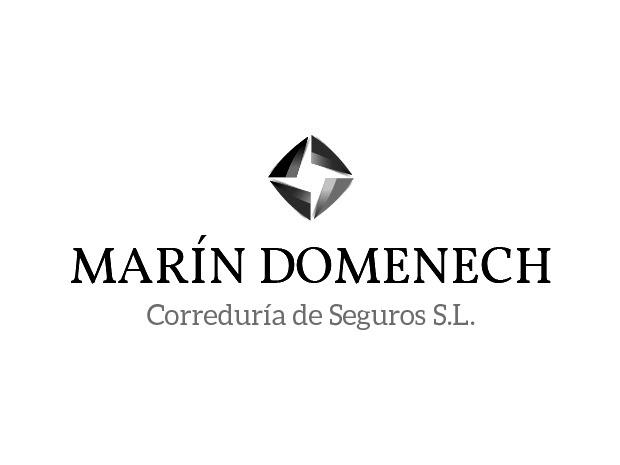 Marín Domenech Correduría de Seguros imagen corporativa