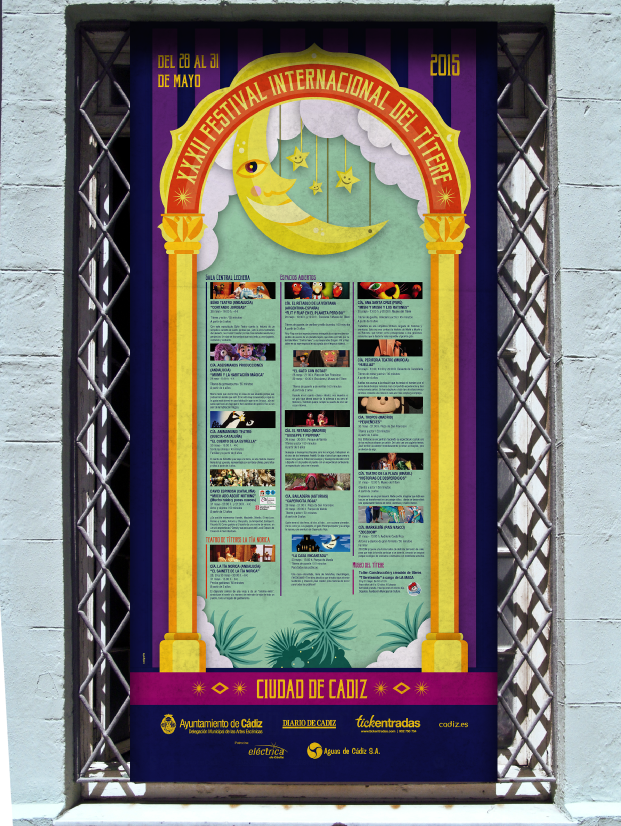 Festival Internacional del Titere 2015 diseño de imagen