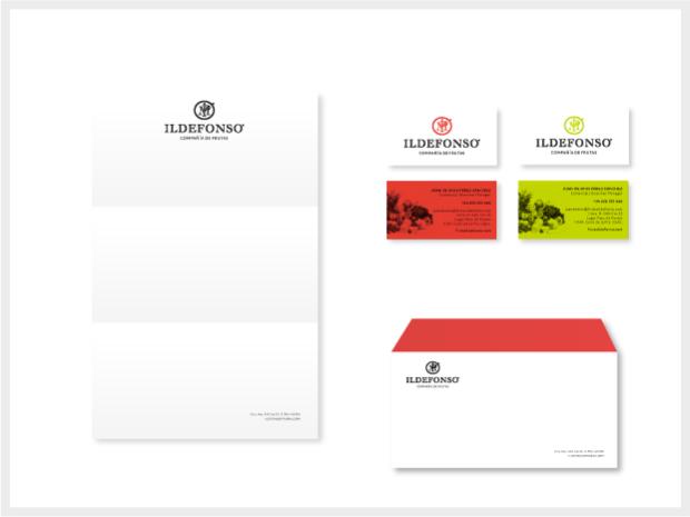 Diseño de imagen corporativa para Frutas Ildefonso