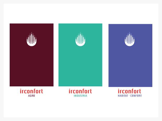Diseño de imagen corporativa para IRConfort