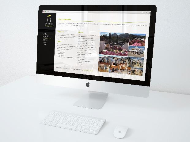 Rediseño de página web para Oleum Viride