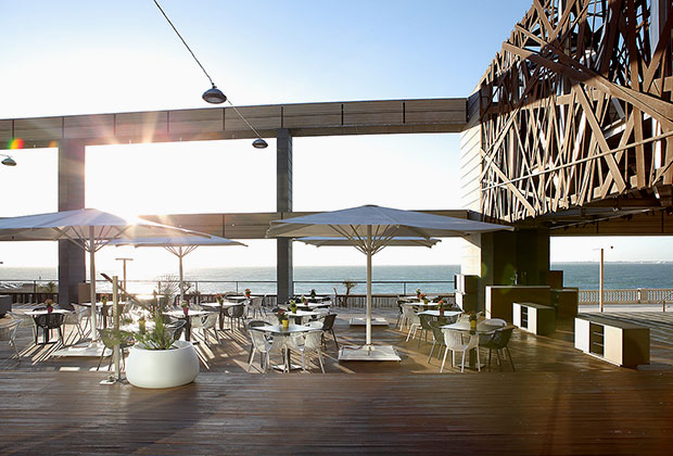 Diseño de imagen gráfica para el parador Hotel Atlántico
