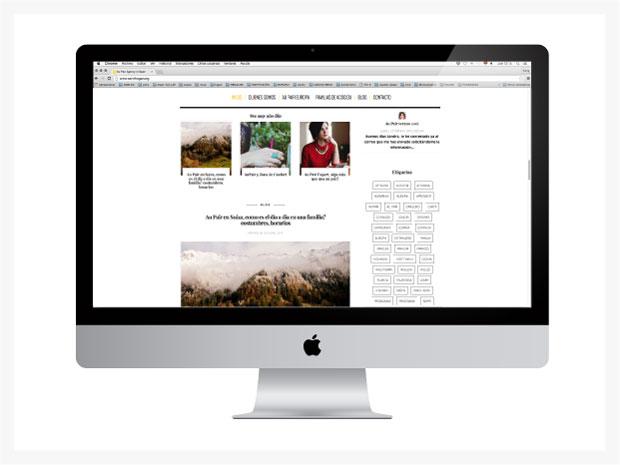 Diseño de página web para Servihogar aupairs
