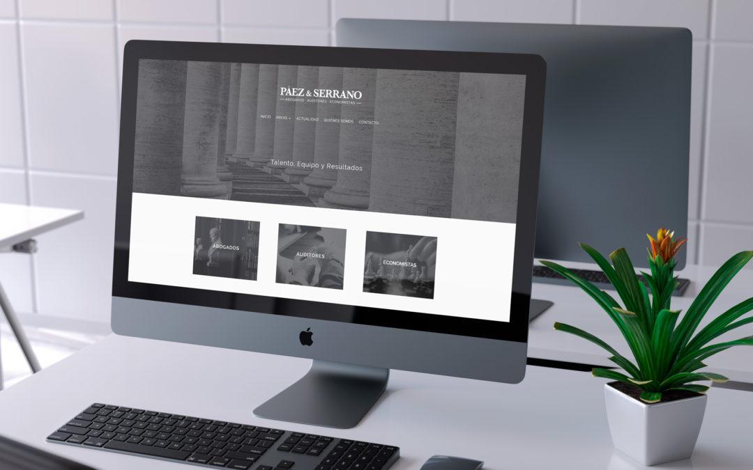 Páez & Serrano – Web