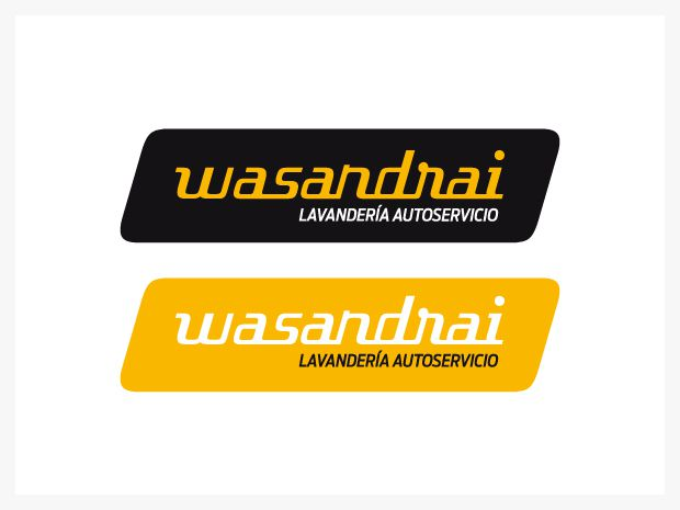 Wasandrai lavanderia autoservicio diseño de imagen corporativa
