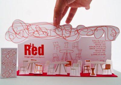 La Red – Stand para IV edición de Mercartes