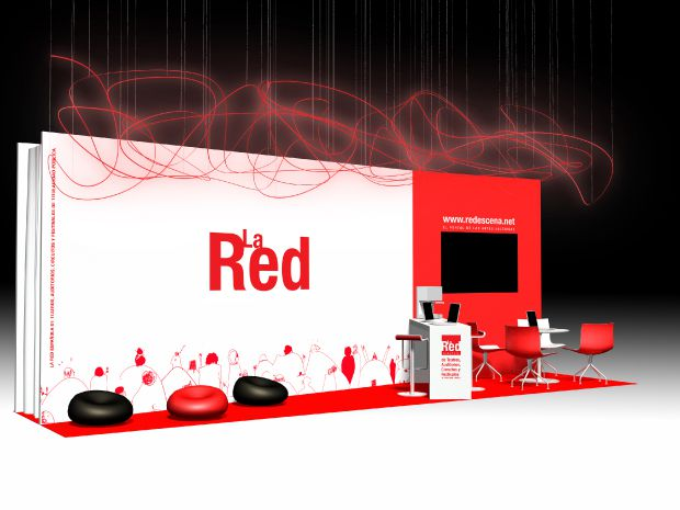 La Red Stand Mercartes