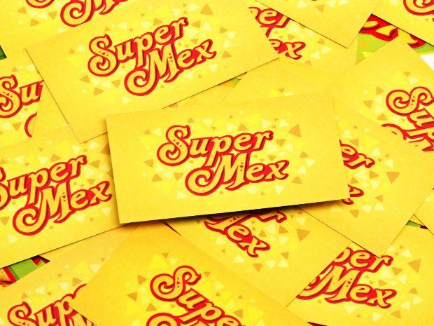 SuperMex Foods Diseño de logotipo e imagen corporativa