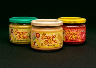 Supermex – Packaging salsas
