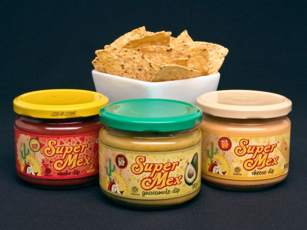 SuperMex Foods Diseño de packaging