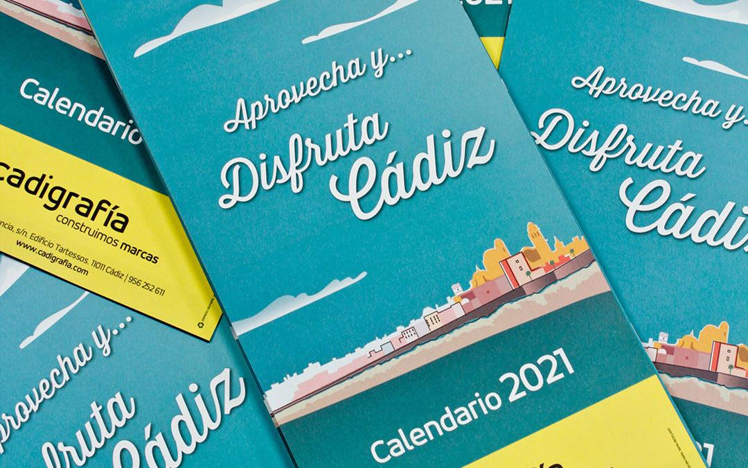 """""""Disfruta Cádiz"""", nuestro calendario 2021 dedicado a la provincia"""